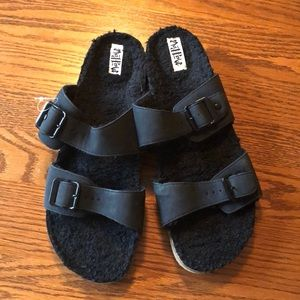 Mad Love Sandals with soft lining SZ 11